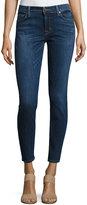 Krista Ankle Skinny Jeans, Dark Blue
