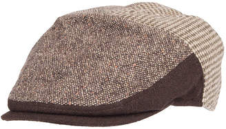 Dockers Mixed Media Flat Top Ivy Cap with Earflaps