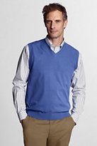 Classic Men's Big Performance Soft Sweater Vest-Sail Blue