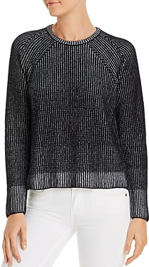 Eileen Fisher Petites Ribbed Organic Cotton Sweater