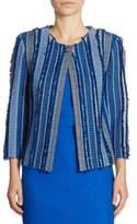 St. John Fil Coupé Knit Jacket