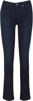 Seven London Kimmie Slim Illusion Straight Leg Jeans