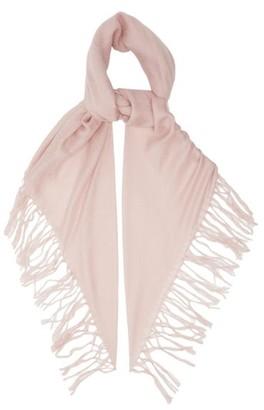 Brunello Cucinelli Lightweight Tasselled Cashmere-blend Scarf - Light Pink