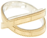 Anna Beck 18K Gold Plated Stering Silver Smooth Cross Ring