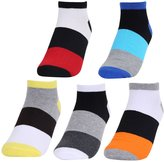 Panegy Mens Womens No Show Socks 5 Pack Wicking Running Sport Unisex Athletic Cushion Low Cut Crew Cotton Ankle Socks
