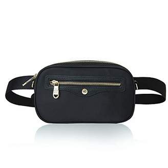 2-way Water Resistant Waist Bags for Women Fanny Pack Travel Waist Pack for Women