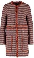 SET Short coat blue/red