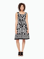Kate Spade Lantern scoopneck dress