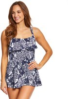 Penbrooke Petaled Single Tier Swimdress 8150415