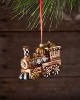 Mackenzie Childs MacKenzie-Childs Steampunk Train Glass Ornament