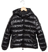 Moncler Girls' Hooded Down Jacket