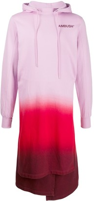 Ambush Gradient Hoodie Dress
