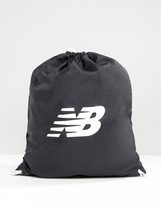 New Balance Gymsack In Black