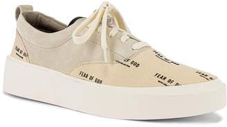 Fear Of God 101 Lace Up Sneaker in Bone & Cream Print | FWRD
