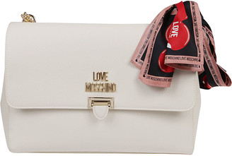 Love Moschino White Eco-leather Bag