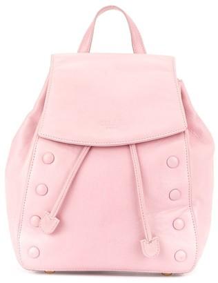 Céline Pre-Owned Logo Embossed Backpack