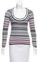 Missoni Striped Wool-Blend Top