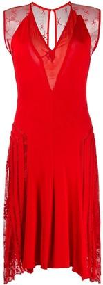 Jean Paul Gaultier Pre Owned 2000 Lace Panel Dress