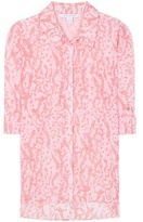 Diane von Furstenberg Lorelei Two Printed Cotton And Silk Shirt