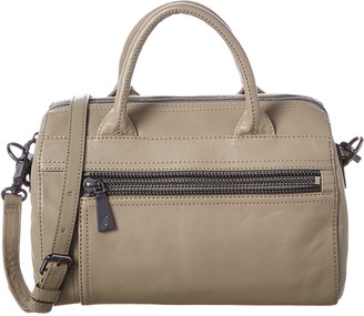 Frye Lena Leather Zip Satchel