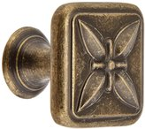 Amerock BP27009-R2 1.13 in. Knob - Weathered Brass