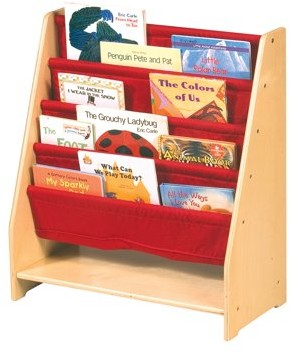Guidecraft Canvas Book Display