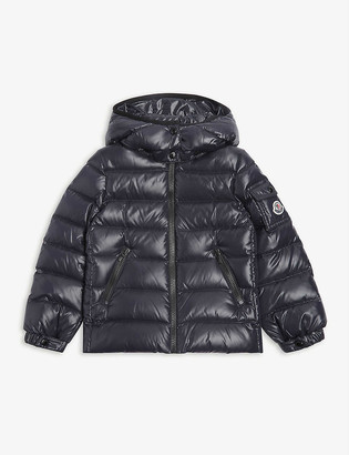 Moncler Bady logo-embroidered padded shell jacket 4-14 years