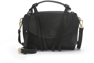 Sole Society Women's Eban Crossbody Black One Size Vegan Leather From