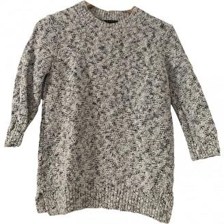 Theory Grey Cotton Knitwear for Women