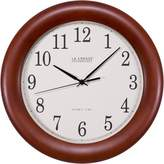 La Crosse Technology WT-3122A 12-1/2-Inch Wood Atomic Analog Clock
