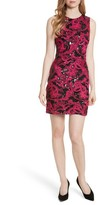 Alice + Olivia Women's Nat Embellished Fitted Minidress