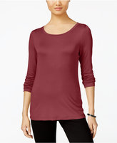 Cable & Gauge Long-Sleeve Knit Top