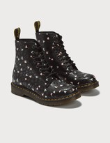 Dr. Martens 1460 Pascal Custom Chaos Hearts Leather Ankle Boots