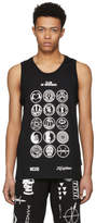 Kokon To Zai Black Scout Patch Tank Top