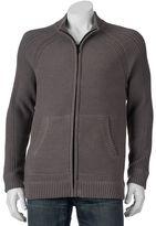 Apt. 9 Men's Modern-Fit Textured Raglan Full-Zip Sweater