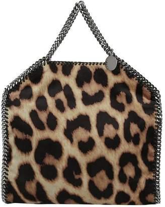 Stella McCartney Falabella Leopard Print Tote Bag