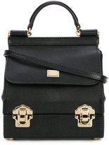 Dolce & Gabbana mini Sicily box bag - women - Leather - One Size