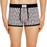 Celio Men's Fully Printed Boxer Shorts - Grey -