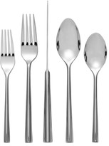 Nambe Flatware 18/10, Tri-Corner 5 Piece Place Setting