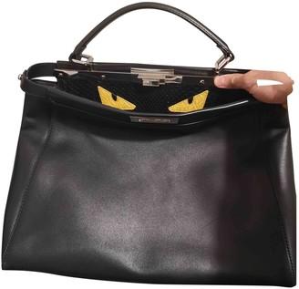 Fendi Peekaboo Black Leather Bags
