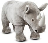 Melissa & Doug Rhinoceros Plush Toy