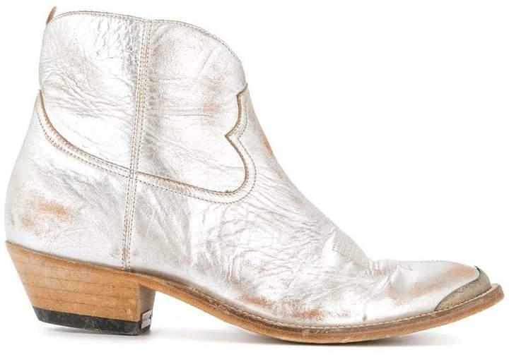 Golden Goose ankle length cowboy boots