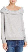 Soft Joie Soloria Off-The-Shoulder Sweatshirt