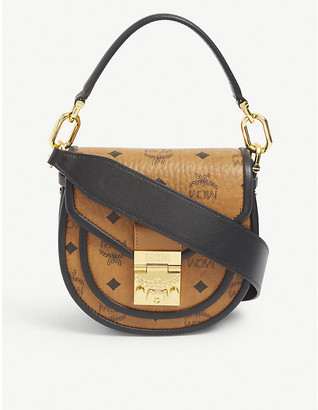 MCM Patricia leather mini shoulder bag