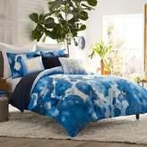 Blissliving Home Casa Azul Reversible King Duvet Cover Set