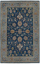 Couristan Tenali Chahar Mahal Framed Floral Wool Rug