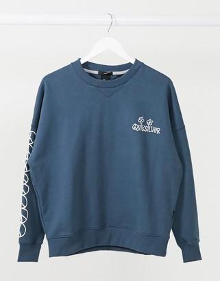 Quiksilver Boxy sweatshirt in navy