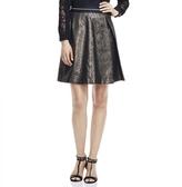Vince Camuto Lurex Jacquard A-Line Skirt