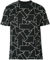 Les Hommes arrow print T-shirt