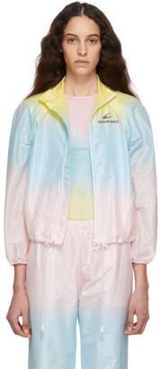 Marine Serre Multicolor Convertible Tie-Dye Jacket